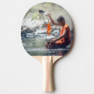 Agua y fuego pala de ping pong