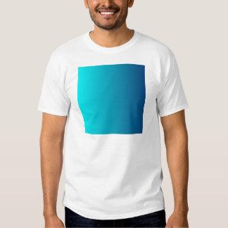 Aguamarina a la pendiente vertical cerúlea oscura camiseta