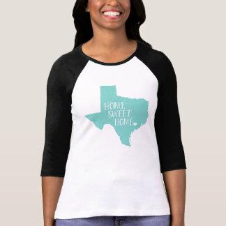 Aguamarina casera dulce casera de Tejas Camiseta