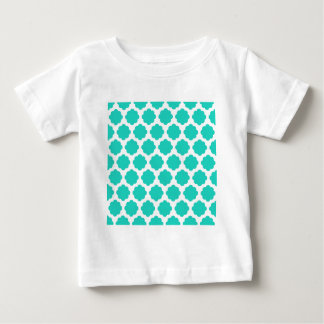 Aguamarina Quatrifoil Camisetas