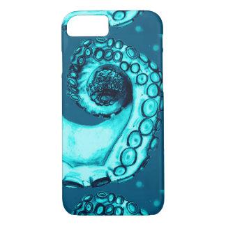 Aguamarina y caso náutico del tentáculo iPhone7 Funda iPhone 7