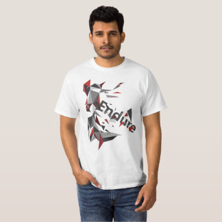 Aguante la camiseta Bajo-Polivinílica