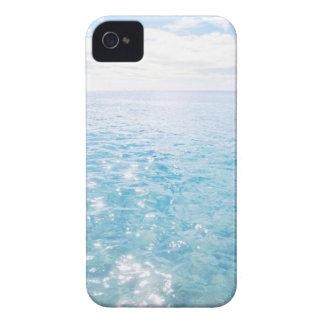 Aguas azules iPhone 4 Case-Mate fundas