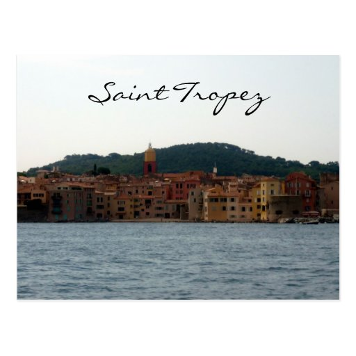 aguas del tropez del santo tarjeta postal