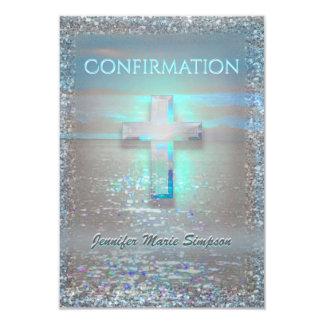 Aguas tranquilas de la confirmación invitación 8,9 x 12,7 cm