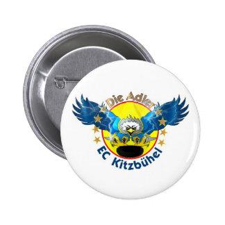 Águila Button Chapa Redonda De 5 Cm