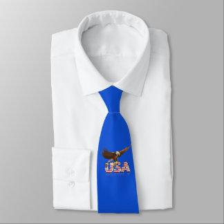 Águila calva corbatas personalizadas