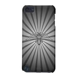 Águila gris con dos cabezas funda para iPod touch 5