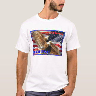 Águilas calvas 2012 de América los E.E.U.U. de las Camiseta