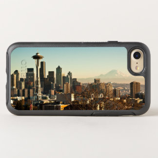 Aguja céntrica del horizonte y del espacio de funda OtterBox symmetry para iPhone 7
