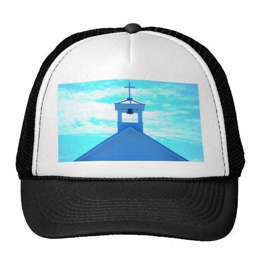 "Aguja ""cruzada"" azul de la iglesia de Photo~, Boca Gorro De Camionero"