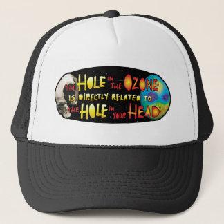 Agujero de YWNMWR en el Ozone=Hole en su gorra