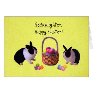 ¡Ahijada, Pascua feliz! Tarjeta De Felicitación