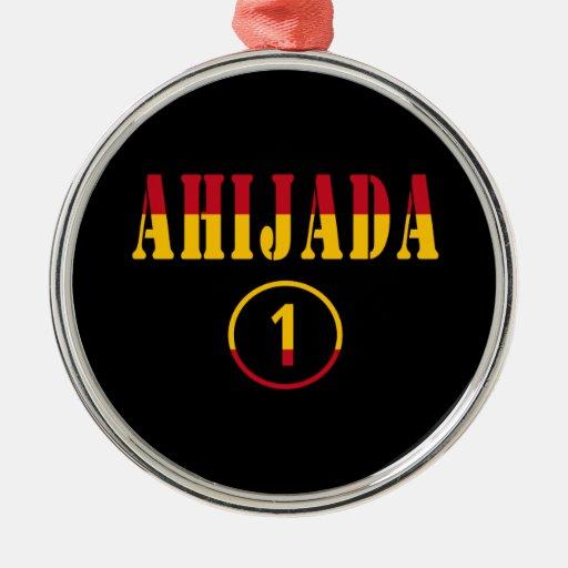 Ahijadas españolas: Uno de Ahijada Numero Ornamente De Reyes