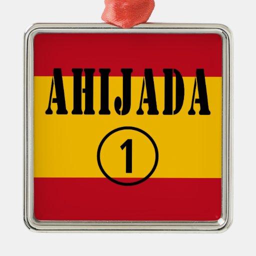 Ahijadas españolas: Uno de Ahijada Numero Adornos