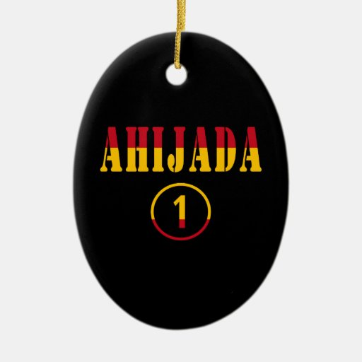 Ahijadas españolas: Uno de Ahijada Numero Adorno Para Reyes