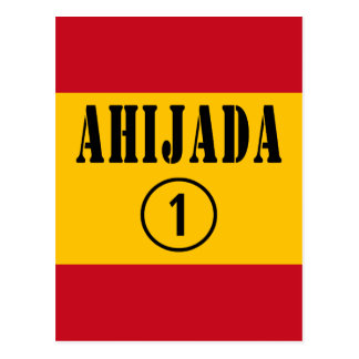 Ahijadas españolas: Uno de Ahijada Numero Postal