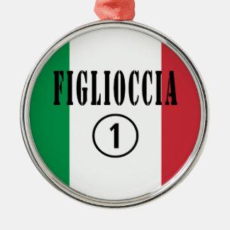 Ahijadas italianas: Uno de Figlioccia Numero Ornamentos Para Reyes Magos