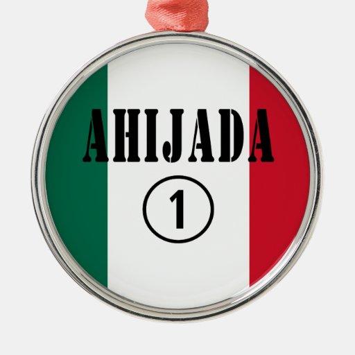Ahijadas mexicanas: Uno de Ahijada Numero Adornos De Navidad