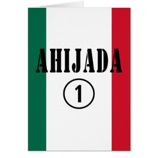 Ahijadas mexicanas: Uno de Ahijada Numero Tarjetas