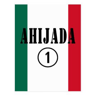 Ahijadas mexicanas Uno de Ahijada Numero Tarjetas Postales