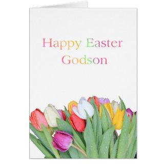 Ahijado Pascua feliz Tarjeta