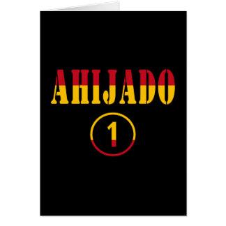 Ahijados españoles: Uno de Ahijado Numero Tarjetón