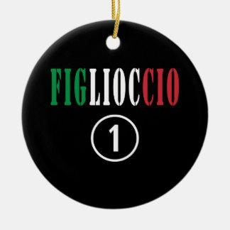 Ahijados italianos: Uno de Figlioccio Numero Ornamento Para Reyes Magos