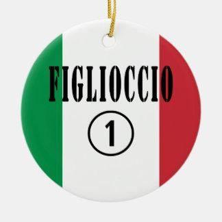 Ahijados italianos: Uno de Figlioccio Numero Ornamentos De Reyes Magos
