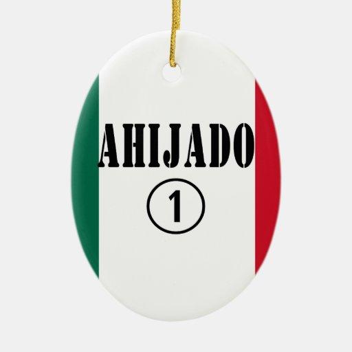 Ahijados mexicanos: Uno de Ahijado Numero Adornos De Navidad