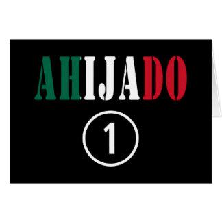 Ahijados mexicanos: Uno de Ahijado Numero Tarjeta