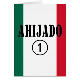 Ahijados mexicanos: Uno de Ahijado Numero Tarjeta De Felicitación