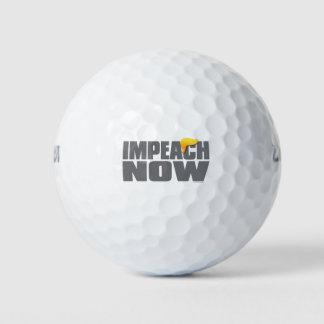 AHORA acuse las pelotas de golf