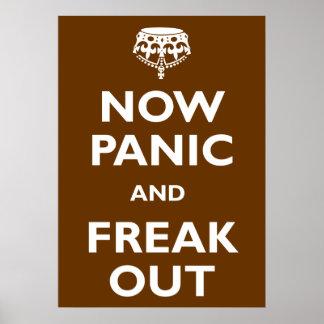 Ahora el pánico y Freak hacia fuera Poster