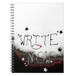 """""""Ahora escriba"""" el cuaderno ligero del cielo"""