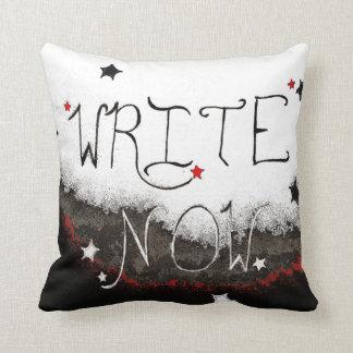 """""""Ahora escriba"""" la almohada de tiro ligera del"""