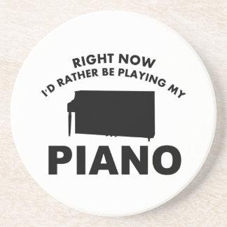 Ahora estaría jugando bastante el PIANO Posavasos Diseño