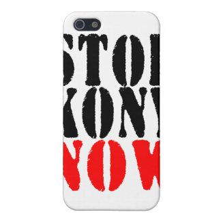 AHORA PARE KONY yo iPhone 5 Cárcasas