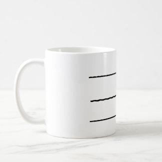 Ahora usted puede hablar la taza de café