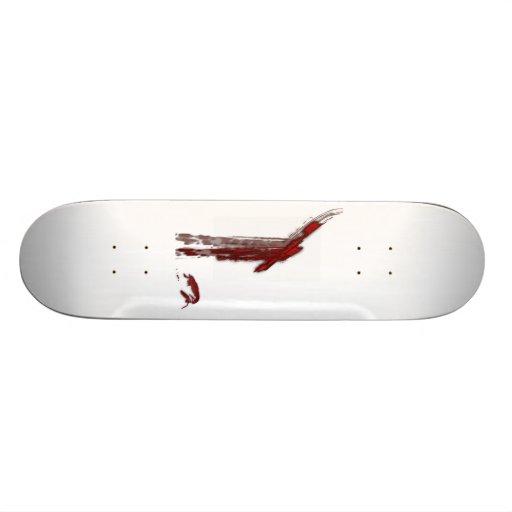 Ahorrado por su sangre tabla de patinar
