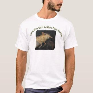 ¡Ahorre a la musaraña de la suciedad de San Camiseta