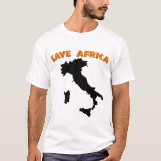 Ahorre África Camiseta
