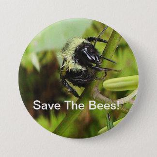 Ahorre el botón de las abejas