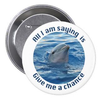 Ahorre el botón de los delfínes