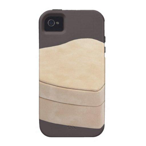 Ahorre el corazón de la crema de la fecha iPhone 4/4S carcasas