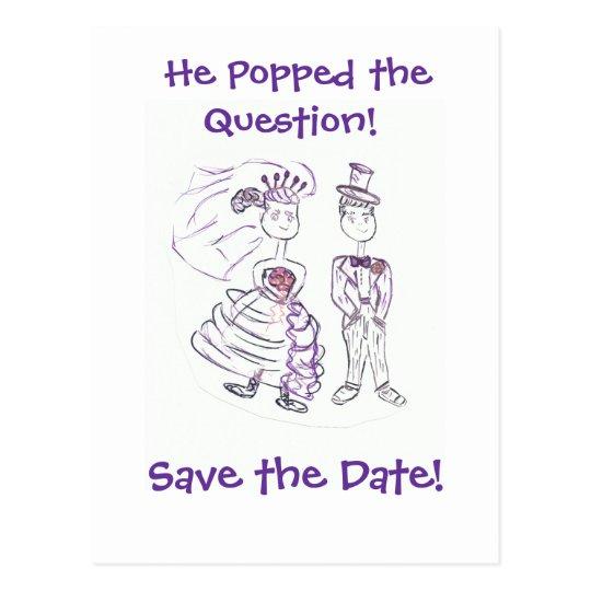 Ahorre el Date/He hizo estallar la pregunta Postal