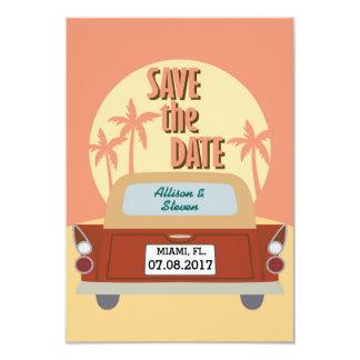 Ahorre el diseño de la fecha invitación 8,9 x 12,7 cm