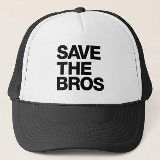 Ahorre el gorra de Bros - negro
