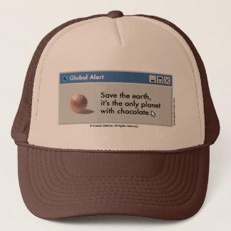 ¡Ahorre el gorra del chocolate del planeta!