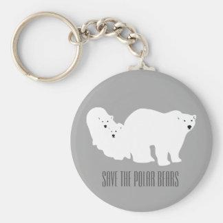 Ahorre el llavero gris de los osos polares de Ana